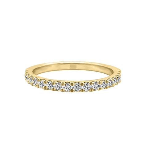 14K Gold Diamond Wedding Band (0.35 Ct, G-H Color, SI2-I1 Clarity) by Noray Designs