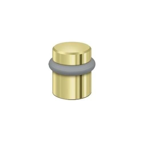 Deltana UFB4505 Solid Brass Round Universal Floor Bumper