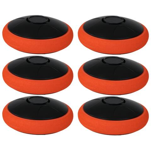 Sunnydaze Tabletop Air Hockey Electronic Rechargeable Hover Puck - Set of 6 - Set of 6
