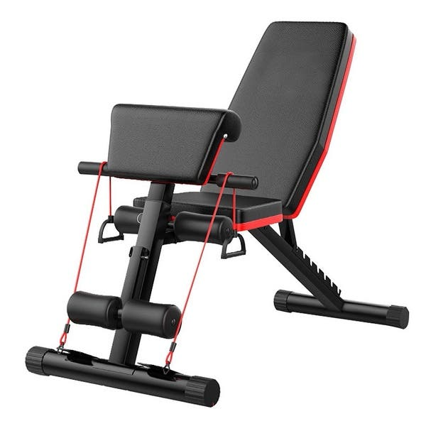 Adjustable Roman Chair Foldable Decline Sit Up Bench Crunch Board Fitness Home Gym /& Outdoor Exercise Sport Suitable for Not Only Men