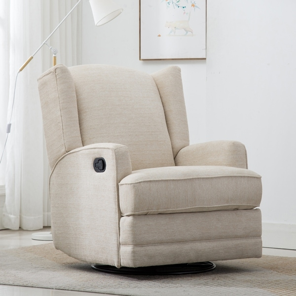 Shelby Wingback Swivel Glider Recliner by Greyson Living. Opens flyout.