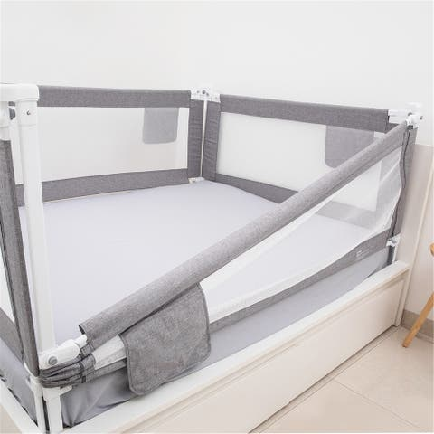 80'' Bed Rails For Toddlers New Upgraded Extra Long Bed Guardrail For Kids - 80 inches