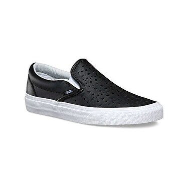 dc7c3a9045 Shop Vans Men s Classic Slip-On - Cut Out Geo Black Blanc De Blanc 5.5 M -  Free Shipping Today - Overstock - 20292519