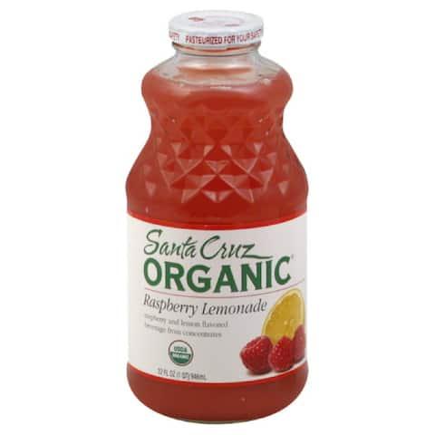 Santa Cruz Raspberry Lemonade, 32 Fo (Pack of 12)