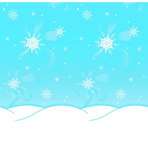 Pacon Fadeless Winter time Pattern Art Paper Roll, 48 in X 12 ft