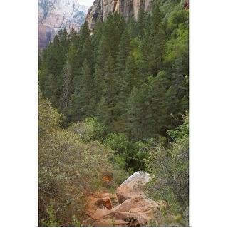 """Zion National Park"" Poster Print"