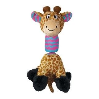 Kong Stretchezz Tugga Giraffe Dog Toy Large