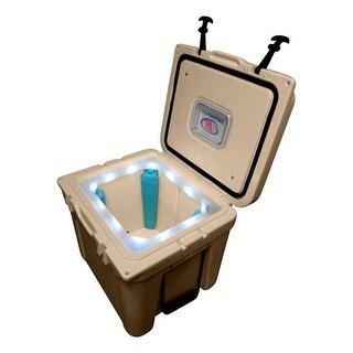 LiT Cooler Ice Legs Lighted Night Sight Halo 32 Quart TS4006000