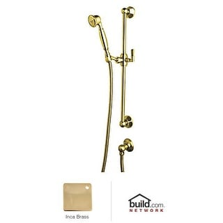 "Rohl 1330 Palladian Single Function Hand Shower with 24"" Slide Bar, 59"" Hose, an"
