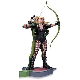DC Collectibles Green Arrow & Black Canary STATUE, Limited Edition ACTION FIGURE
