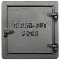 "US Stove COD 8 Chimney Cleanout Door, 8"" x 8"", Cast Iron"