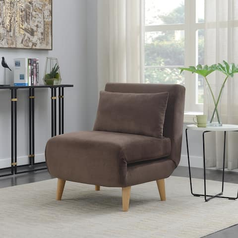 Convertible Upholstered Sofa Bed Sleeper Chair