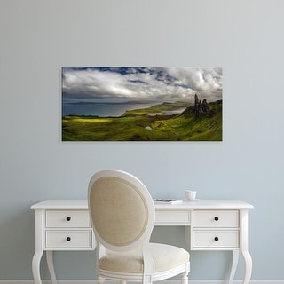 Easy Art Prints Panoramic Images's 'View over the Old Man of Storr at sunset, Isle of Skye, Scotland' Canvas Art