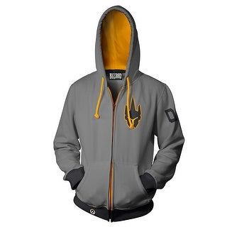 Overwatch Ultimate Reinhardt Men's Zip-Up Hoodie