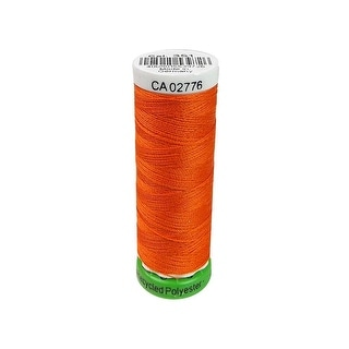 723860 351 Gutermann Recycled Thread Poly 100m Orange