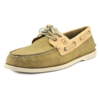 Sperry Top Sider A/O Eye Moc Toe Leather Boat Shoe