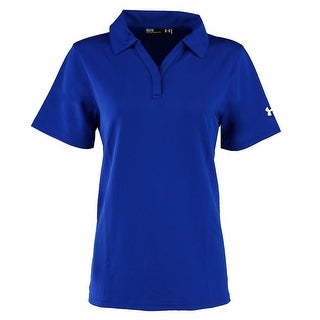 Under Armour Ladies' Corp Performance Polo - ROYAL BLUE - M