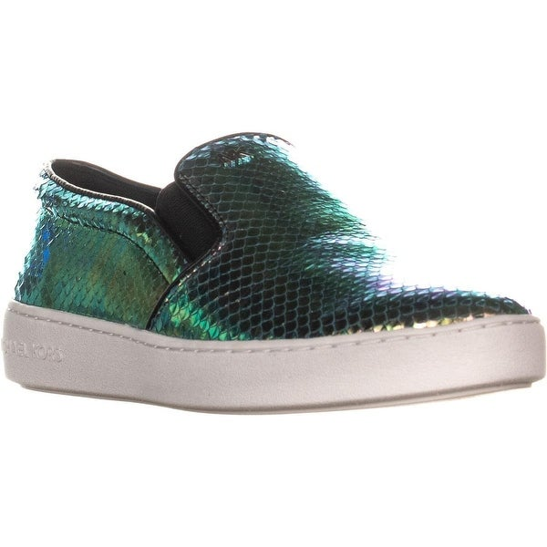 883da29ba016 Shop MICHAEL Michael Kors MK Signature Keaton Slip On Sneakers ...