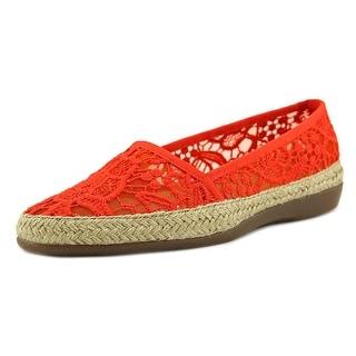 Aerosoles Trend Report Women Round Toe Canvas Loafer