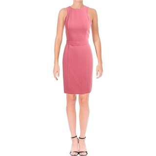 BOSS Hugo Boss Womens Dalanea Wear to Work Dress Crepe Sleeveless (3 options available)
