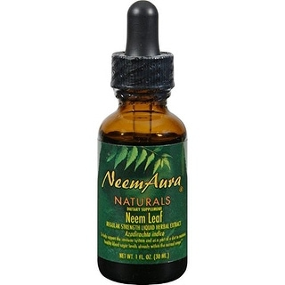 Neemaura Naturals Neem Leaf Extrc with Alc 1-ounce