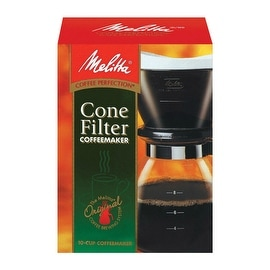 Melitta 640616 Cone Filter Gourmet Coffeemaker, 10 Cup
