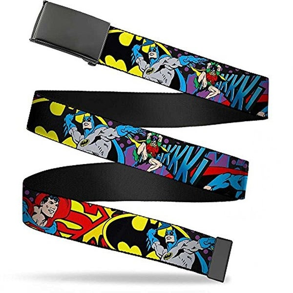 Buckle-Down Web Belt Batman 1.25""
