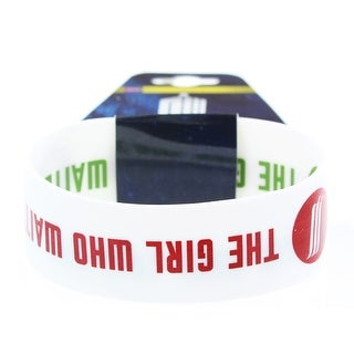 Doctor Who Rubber Wristband The Girl Who Waited - multi