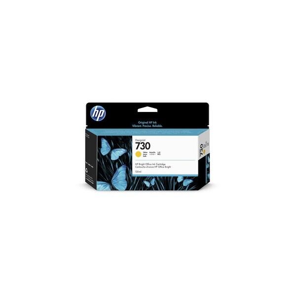 HP 730 130-ml Yellow Ink Cartridge (Single Pack) Ink Cartridge