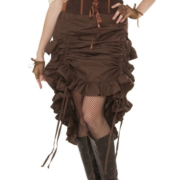 Shop Steampunk Skirt - Free Shipping On Orders Over  45 - Overstock -  14044677 0d2cabebb0c