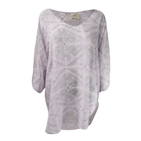 O'Neill Juniors' Bevie Printed Tunic Cover-Up