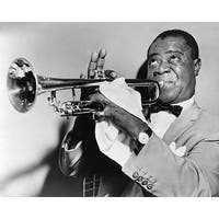 ''Louis Armstrong, 1953'' by McMahan Photo Archive Jazz Art Print (8 x 10 in.)