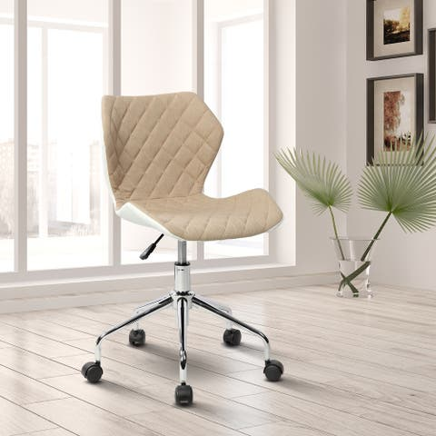 Modern Height Adjustable Home Office Task Chair 3 Color