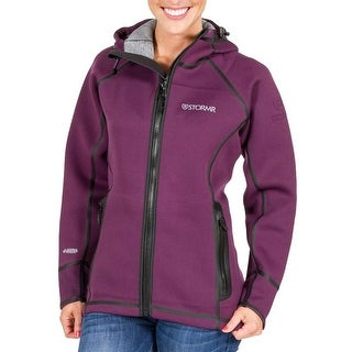 Stormr Women's Typhoon Plum Medium Jacket For Harsh Weather Conditions