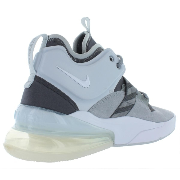Nike Mens Air Force 270 Leather Off-Court Basketball Shoes