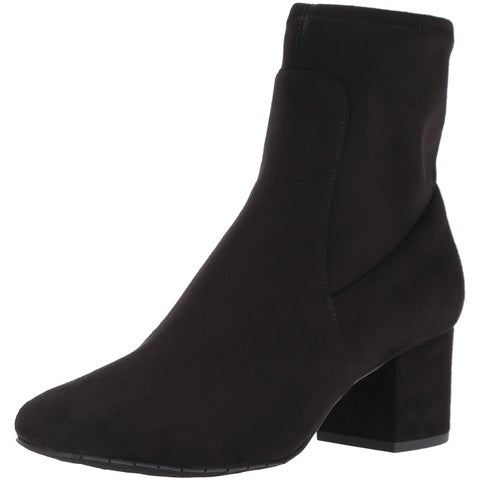 Kenneth Cole New York Womens Nikki Almond Toe Ankle Fashion Boots - 7