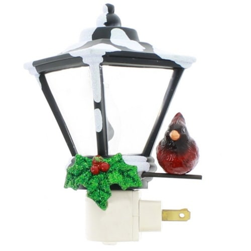 "Roman 6"" Flickering Lantern Holiday Winter Nightlight' / Amazon: '6"" Lantern Nightlight Flicker C7 Bulb by Roman"