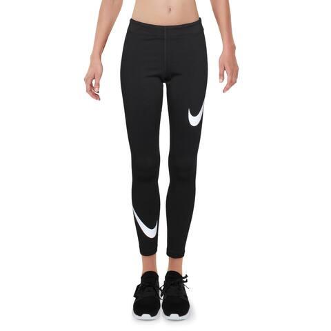 Nike Womens Pants Logo Yoga - Black - S