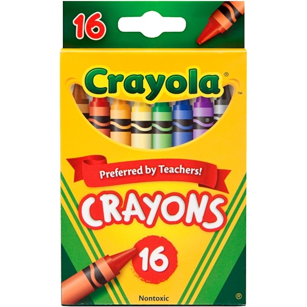 Crayola Crayons-16/Pkg