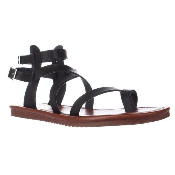 Seven Dials Sync Ankle Strap Sandals, Black