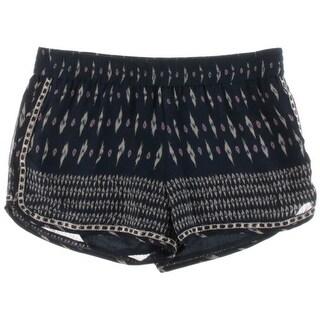 Joie Womens Bogen Silk Printed Casual Shorts - M
