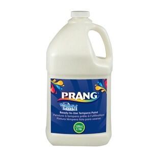 Prang Non-Toxic Ready-to-Use Washable Tempera Paint, 1 gal Bottle, White