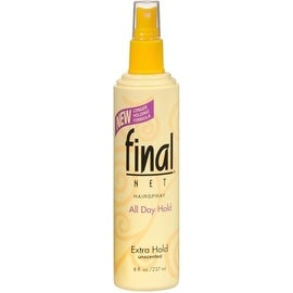 Final Net Hairspray Non-Aerosol Extra Hold Unscented 8 oz