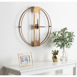 Link to Kate and Laurel Urgo Wall Clock Similar Items in Decorative Accessories