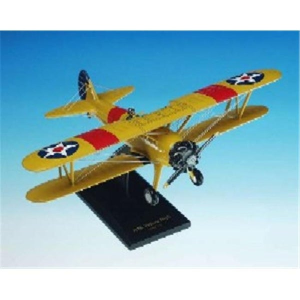 Daron Worldwide Trading PT-17 N2S Yellow Peril Stearman 1/24 AIRCRAFT