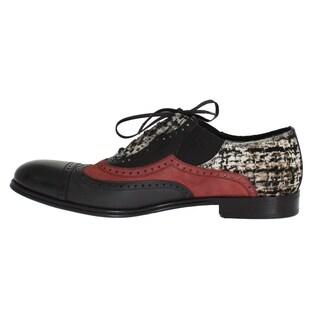 Dolce & Gabbana Dolce & Gabbana Multicolor Leather Pony Hair Shoes - eu44-us11