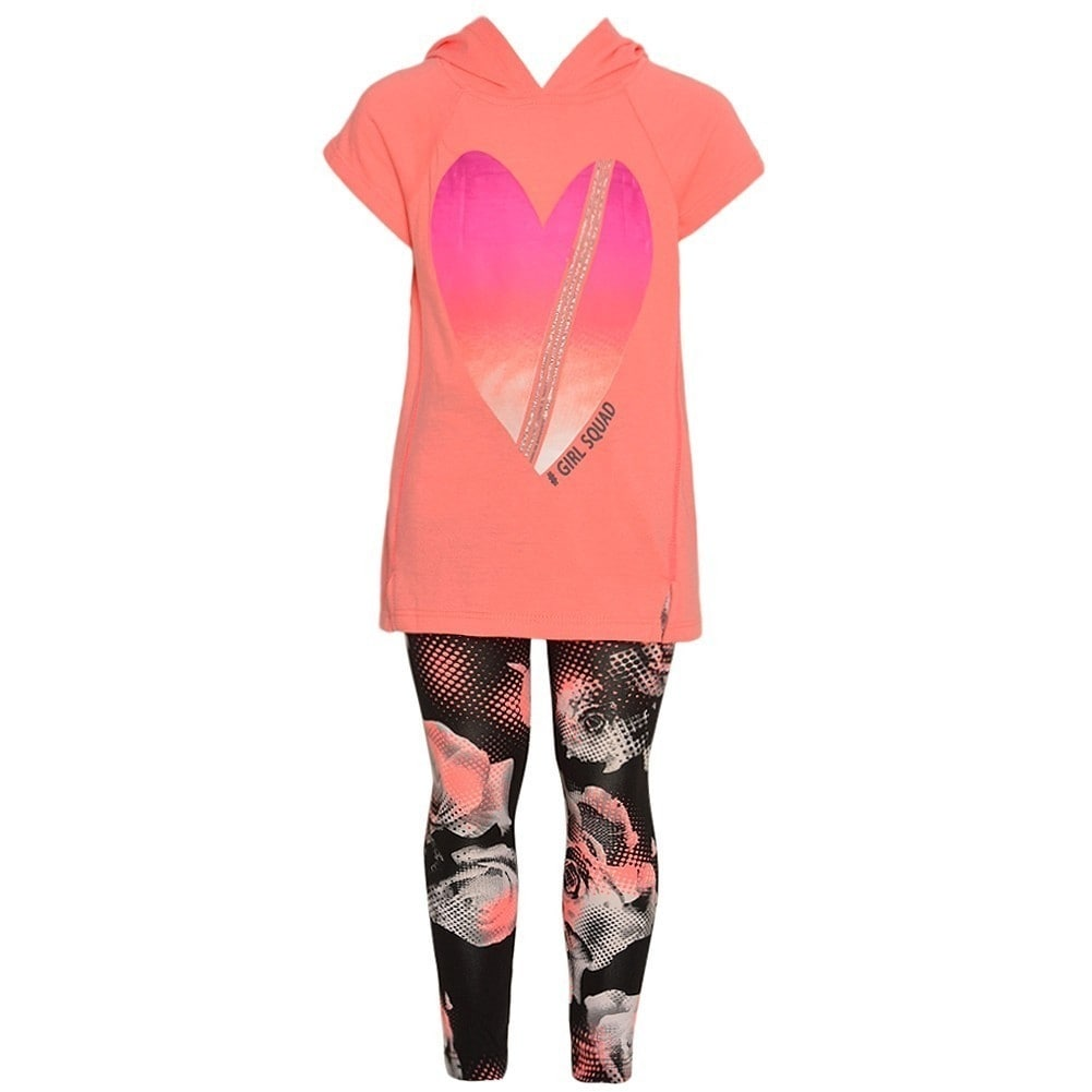 Girl Squad Girls 2-Piece Leggings Set Outfit