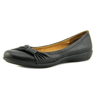 White Mountain Motel Women Round Toe Synthetic Black Flats