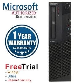 Refurbished Lenovo ThinkCentre M81 SFF Intel Core I5 2400 3.1G 8G DDR3 2TB DVD Win 10 Pro 1 Year Warranty