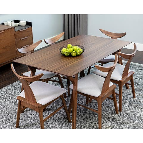 """Haisley Dining Table Set - 59"""" - With 6 X Jaxton Dining Chair"""